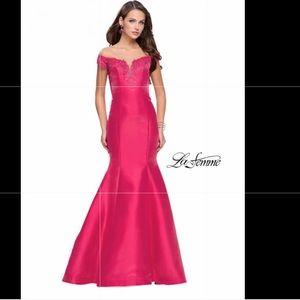 NWT La Femme Hot Pink